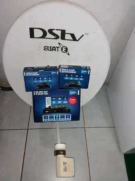 DSTV Package: Explora 2A, HD 5S, HD 4S & satalite with Smart LNB