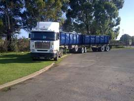 34 ton sidetipper and horse to lease