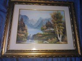 Картина маслом на холсте. Италия 58х48 см