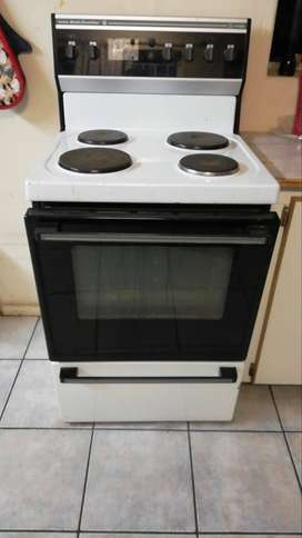 Two electrical stoves