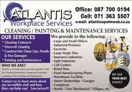 Cleaning, Painting, Renovations, Security Gates, Windows & Maintenance