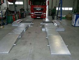 Тормозной (гальмiвний) стенд мобильный ( передвижной )18 тонн