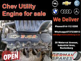Chev utility engine for sale
