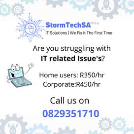Are you Struggling with IT Related Issue's?