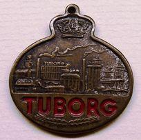 TUBORG - odznaka, etykieta piwna - zamienię na monety