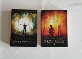 Zestaw książek Czarodzieje i Król Magii Lev Grossman