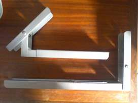 Wall brackets. Folds and extends R60