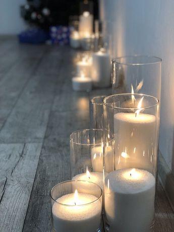 Аренда, прокат насыпных свечей Киев ДЕШЕВО! Свадьбу, презентацию Киев - изображение 8