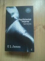 """książka E L James""""Pięćdziesiąt twarzy Greya"""""""