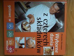 książka wyborne dania z czterech składników