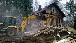 Разборка постройки. Демонтаж дома,сарая. Демонтаж - вывоз мусора