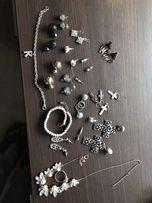 Biżuteria kolczyki pierścionek bransoletka
