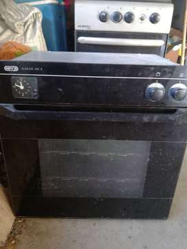 Defy oven and gas stove