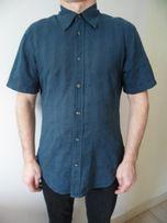 Рубашка мужская Calvin Klein короткий рукав хлопок размер L