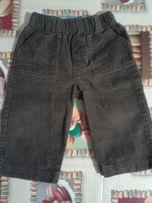 Spodnie sztruks 74