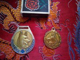 Собачьи медали, жетоны
