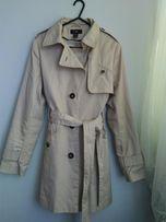 Płaszcz wiosenny/jesienny typu prochowiec (H&M) - rozmiar 36/38
