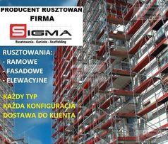 RUSZTOWANIA od 100m2 - Sprzedaż - Producent Rusztowań i Podestów JANKI