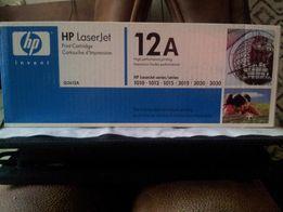 Продам картридж HP Laser Jet 12A (Q2612A)(оригинал) новый(2500 рублей)
