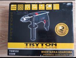 Wiertarka udarowa TRYTON TDW 550 Nowa wysyłka gratis!!!