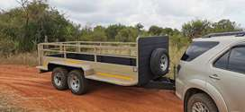 Heavy duty trailer