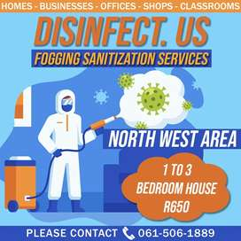 Disinfect. Us
