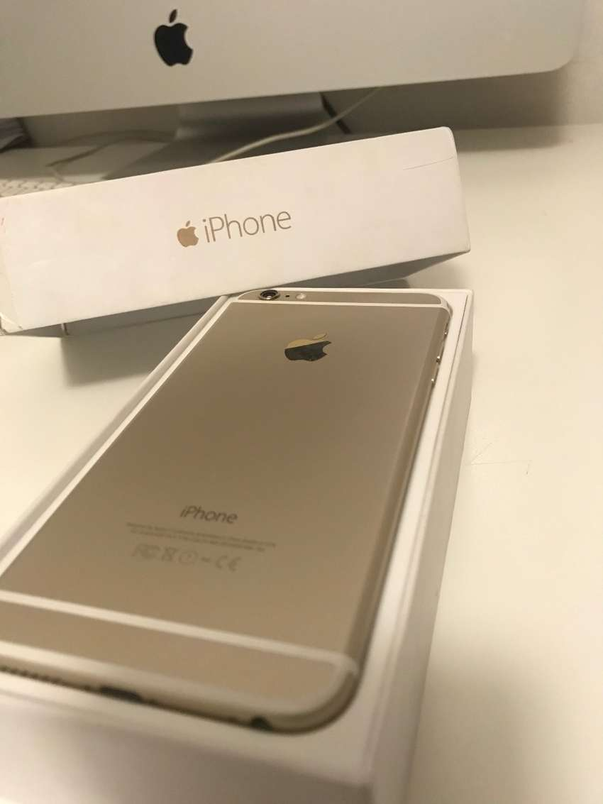 Iphone 6 Plus (Gold) 64gig 0