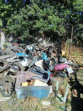Various bikes and scooters for spares