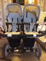 коляска для двойни (Emmaljunga Double Viking 2 в 1)