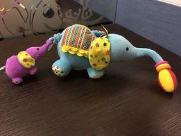 Игрушка слоник с моторчиком
