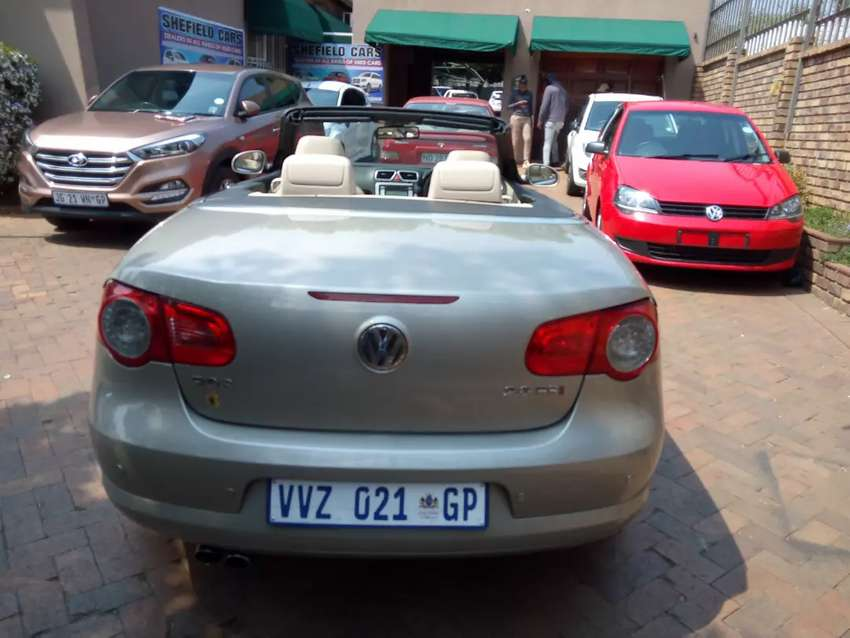Vw Eos 2.0FSi Convertible Automatic For Sale 0