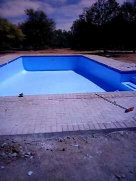 SWIMMING POOLS AND CONSTRUCTION