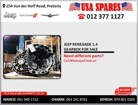 JEEP RENEGADE 1.4 GEARBOX FOR SALE