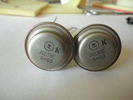 Тиристоры Д238Е 2шт. одним лотом, новые, не паяные, с хранения