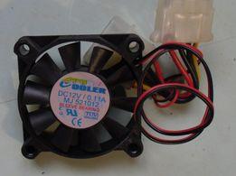 Вентилятор 12 Вольт 50 мм