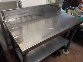 Stainless steel catering table for sale