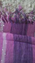 Elegancki i oryginalny duży szal w pięknych kolorach w cenie 5 zł