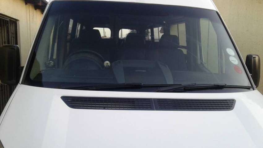 vw crafter 22 seater, lexus V8 engine and autobox conversion 0