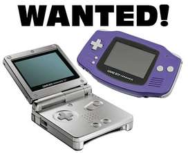 WANTED!. Gameboy Advanced SP