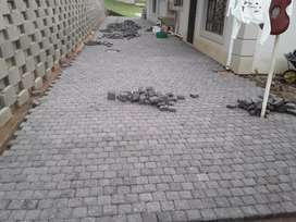 We do supply and install of Cobblestones and Flagstones