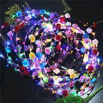 Wianek LED świecący wieczór panieński impreza