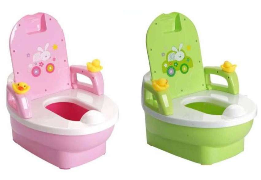 New! Baby Potty Trainer - Colorful Childrens Potty Trainer Pink/G 0