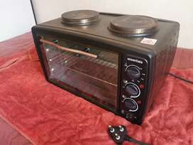 Essential Stove with 24L mini oven *(Negotiable)