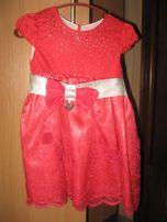 Нарядное платье для девочки до 4-х лет