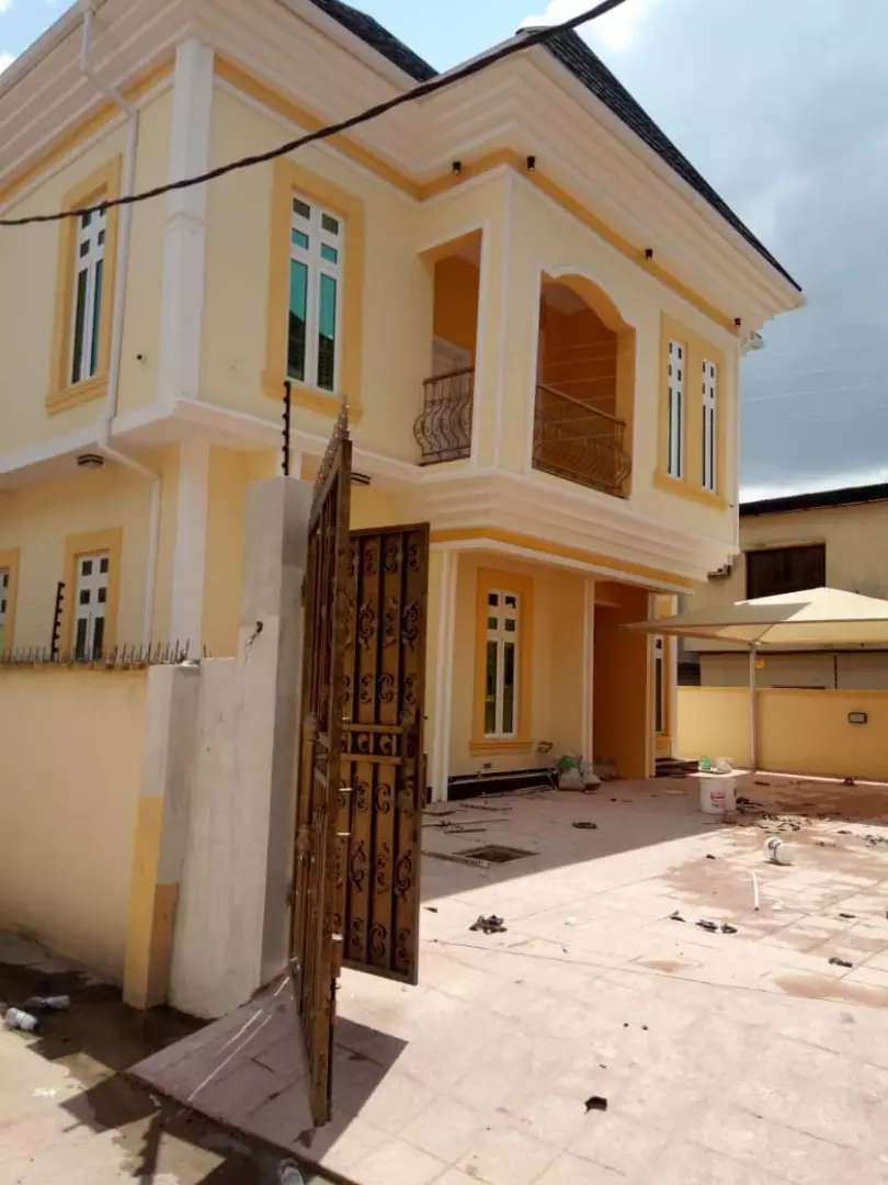 Completed dupex for sale at Omole estate phase one 0