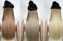 Трессы на пяти заколках волосы пряди накладные