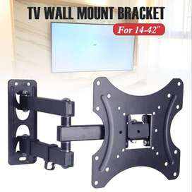 TV Wall Mount Bracket, Full Motion Cantilever Wall Mount 14 to 42 inch