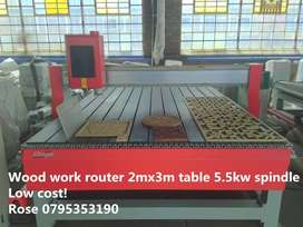 Industrial Wood work router CNC