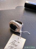 Большое серебряное кольцо