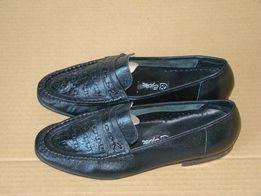 продам новыетуфли мужские черные полностью настоящая кожа раз 28 2 пар